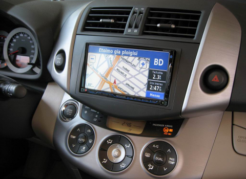 Toyota Rav 4. Car Cinema Navigation Kenwood DNX8220BT.