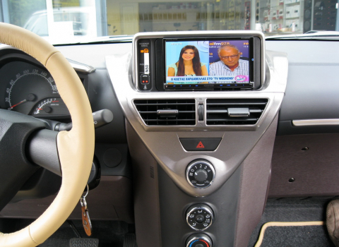 Toyota IQ. Car Cinema Navigation Kenwood DNX9260BT.