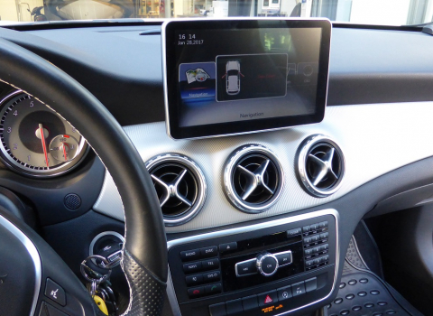 GLA 200 (X156) 2014. Navigation Multimedia Android.