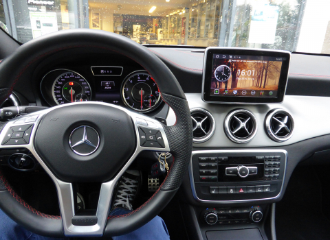 Mercedes CLA (W117) του 2014 , OEM LM ΑΝ336 Android, Digital TV & Rear View Camera.