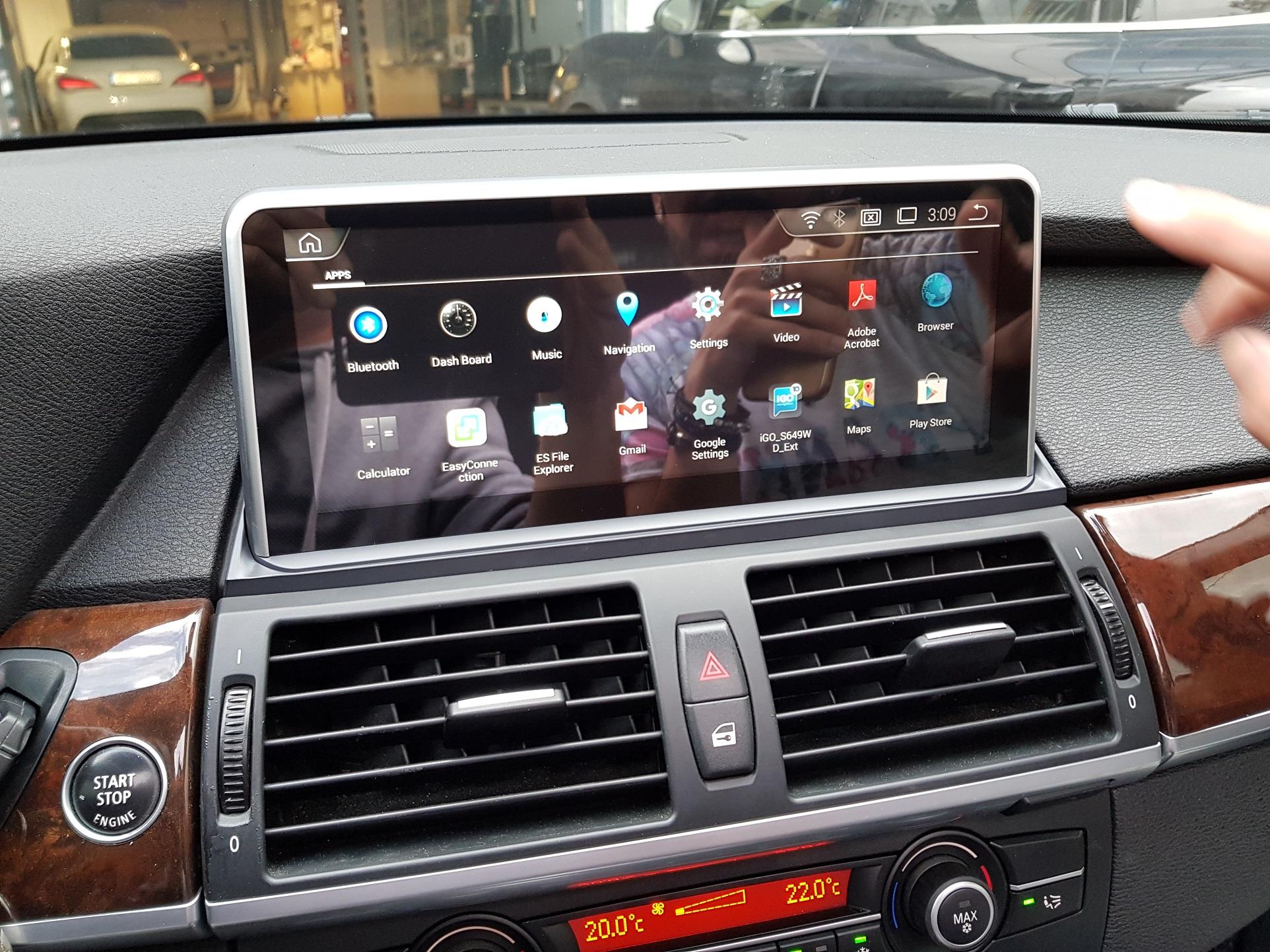 bmw x5 e70 car cinema navigation android. Black Bedroom Furniture Sets. Home Design Ideas