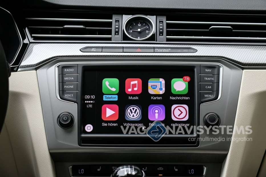 apple car play android auto mib2g7. Black Bedroom Furniture Sets. Home Design Ideas