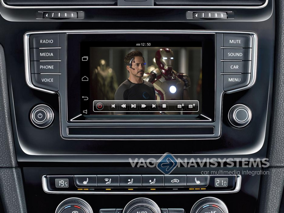 golf vii 2012 - 2017: touch navigation system - naviroik android 5.0