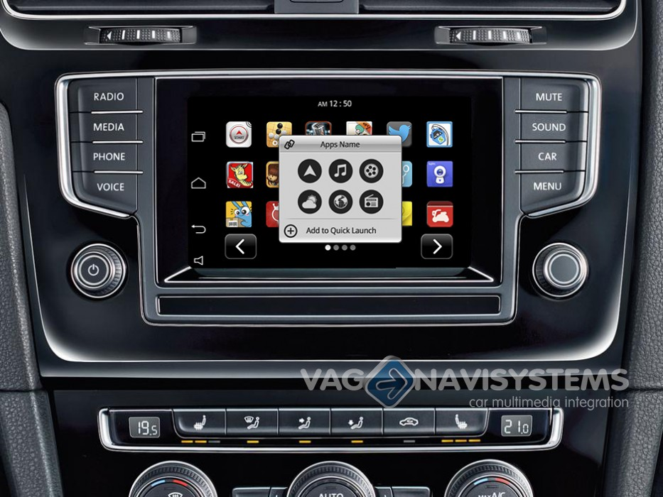 golf vii 2012 2017 touch navigation system naviroik. Black Bedroom Furniture Sets. Home Design Ideas